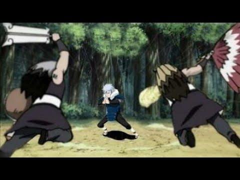 Legendary Battles Tobirama vs Ginkaku & Kinkaku Army Naruto Storm 4