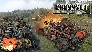 Crossout [FR/4K] Construire sa machine de guerre pour combattre en PVP !