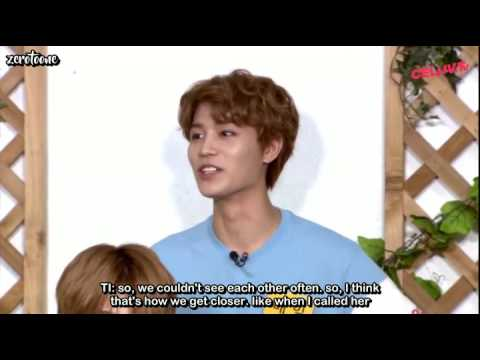 [engsub] Taeil Talking About His Sister P1