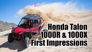10. Honda Talon 1000R and 1000X Review: First Impressions