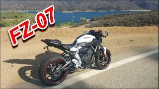 9. What it's like to ride an FZ07, my FZ07/MT07.