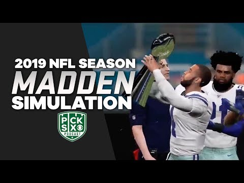 Video: COWBOYS WIN THE (Madden) SUPER BOWL! | Madden 20 Simulation | Pick Six Podcast