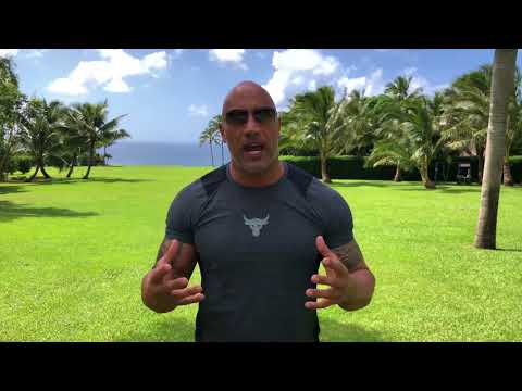 """""""Aloha!"""" From Our Friend Dwayne """"The Rock"""" Johnson"""