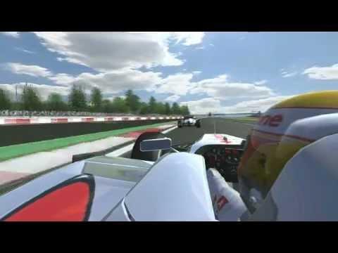 Gp Silrvestone Formula1 F1LFRacing 2012