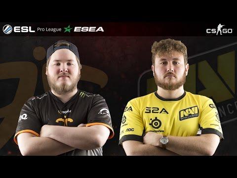 CS:GO - Fnatic vs. NaVi [Dust2] - ESL ESEA Pro League Season 2 Finals - Grand Final