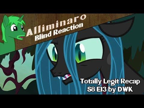 "[Blind Reaction] Totally Legit Recap Season 8 Episode 13 ""The Mean Six"" by DWK"