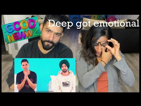 Akshay Kumar & Diljit Dosanjh Experience Labour Pain Reaction | Good Newwz Trailer 2 | RajDeepLive