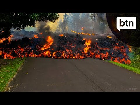 There have been some pretty amazing pictures from the island of Hawaii. A volcano there, named Kilauea, has been erupting and spewing out rivers of lava ...