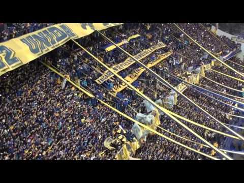 Boca Newell's 2017 / Recibimiento - La 12 - Boca Juniors