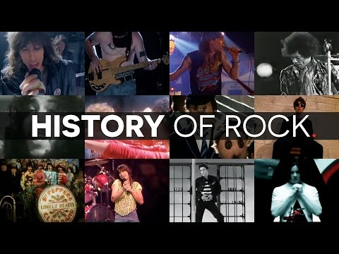 Ultimate History Of Rock Mash Up Music Video