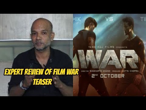 Expert Review Of Film War Teaser - Greek God Hrithik Roshan Is Back