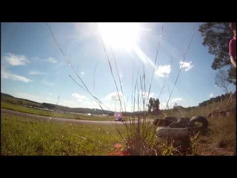 Onboard Camera - Acidente de Kart Paverama - Fireball Sprinter - Copa Amil Kart Show VKC