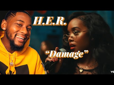 H.E.R. - Damage (Official Video) 🔥 REACTION