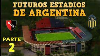 Futuros Estadios de ARGENTINA 2