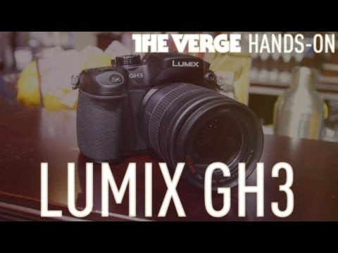 Panasonic Lumix DMC-GH3 hands-on demo