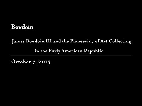 James Bowdoin III, Art Collector Pioneer