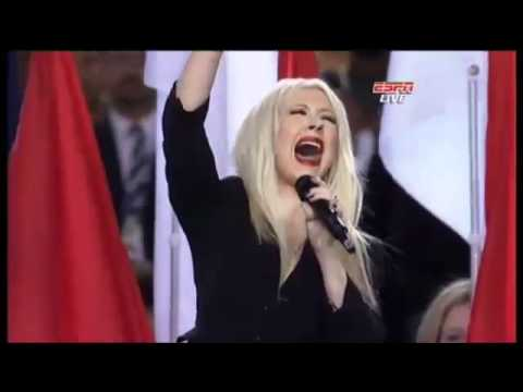 Christina Aguilera – Hymne Nationale Américaine au Super Bowl 2011