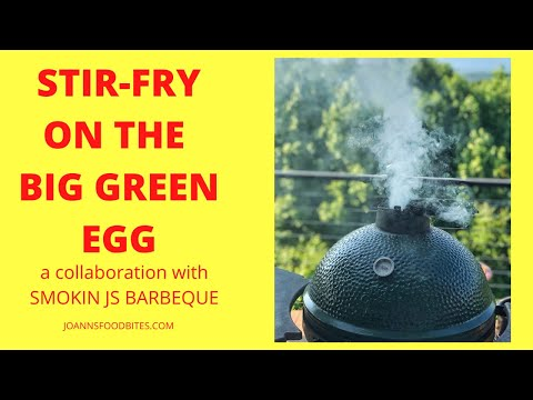 How to cook stir-fry on the Big Green Egg