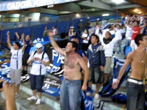 Gremio - Liverpool  02-02-2011 170.AVI - Los Negros de la Cuchilla - Liverpool de Montevideo