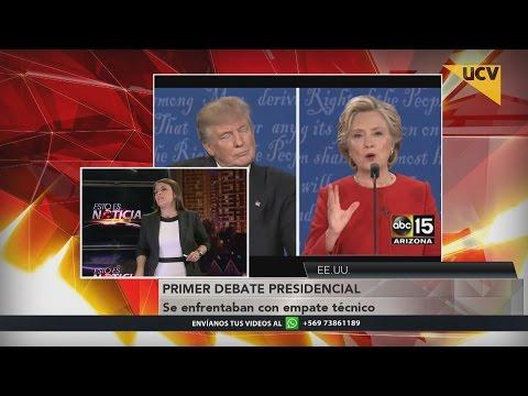 video El análisis del primer debate presidencial entre Hillary Clinton y Donald Trump