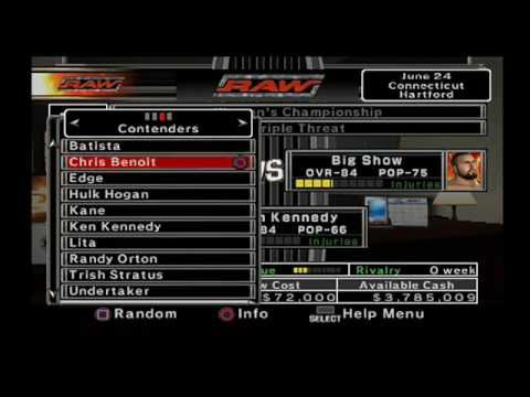 WWE Smackdown vs. Raw 2007 - GM Mode: EP.6 - Improvising