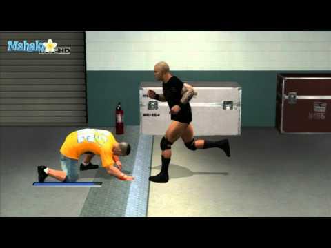 Smackdown Vs Raw 2011 - Road to Wrestlemania - John Cena Vs Randy Orton Backstage