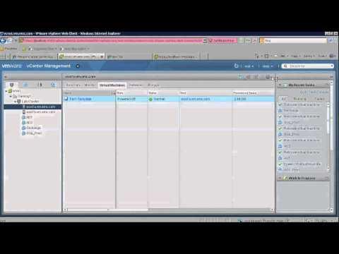 ¿Cómo gestionar un entorno vSphere con un navegador Web?