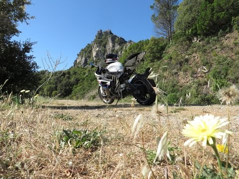 Mit dem Motorrad auf Sardinien 2015