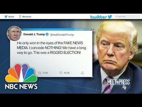 Trump Tweets: 'I Concede Nothing' | Meet The Press | NBC News