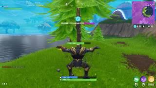 Cool Fortnite glitch, Dance while charging Thanos jump