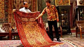 Persian Carpets in Isfahan - Tea Mage Goes to Iran