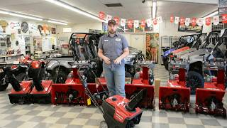 4. Is this unit right for you!? HONDA HS720AA Snow blower