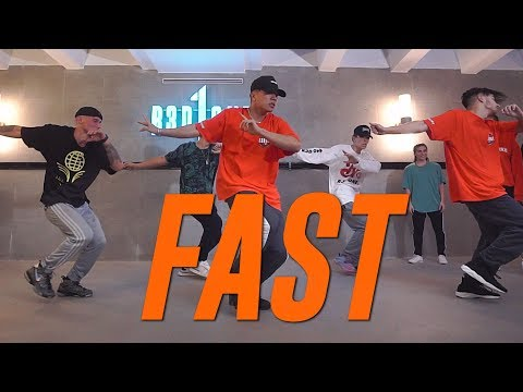 """Sueco The Child """"FAST"""" Choreography by Duc Anh Tran"""