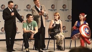 Bruce Campbell and Ted Raimi vs The Audience (St.Louis Comicon 2014)