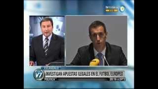 Visión 7: Escándalo: Investigan Apuestas Ilegales En El Fútbol Europeo