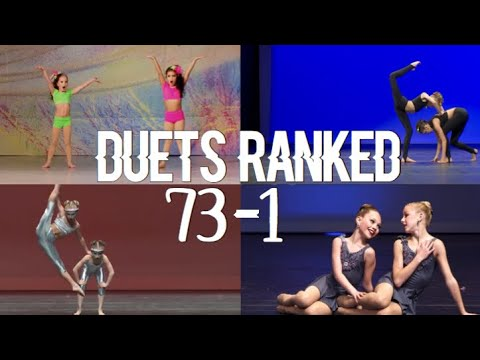 Dance Moms - Duets Ranked 73-1