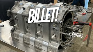 We TEARDOWN my $55K Billet 4 Rotor! Secrets of how to make HP by Rob Dahm