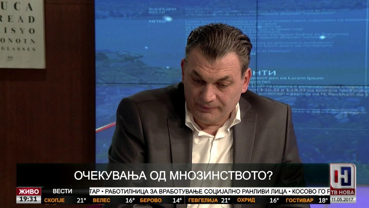 Оливер Андонов – гостин во вестите на ТВ НОВА