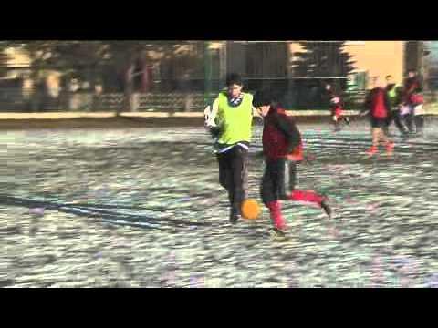 Silvestrovský fotbalový zápas v Chlebičově