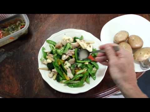 Thai Food Surprise – Stir-fried Vegetables, Thai Style