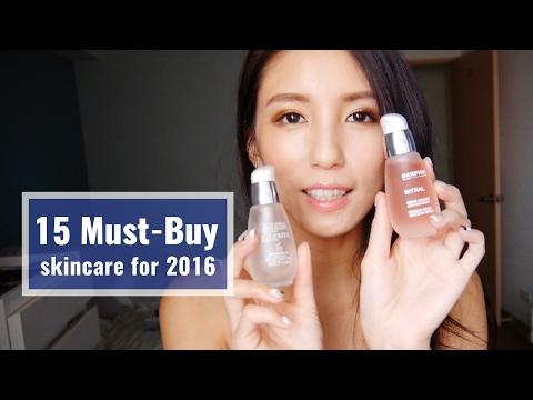 2016週年慶推薦保養品清單15 Must-Buy skincare for 2016