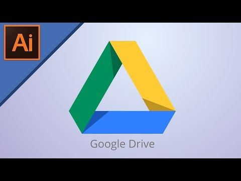Google Drive Logo Design | Illustrator Tutorial |