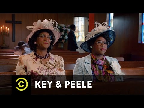 Key & Peele - Georgina And Esther And Satan - Uncensored