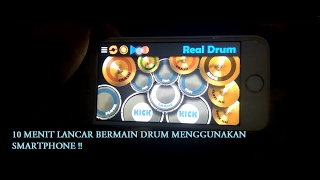 Video Tutorial lancar Teknik dasar bermain drum hanya dari aplikasi Smartphone !!! (Real Drum) MP3, 3GP, MP4, WEBM, AVI, FLV Juni 2018