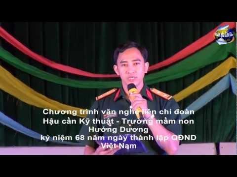 Chương trình văn nghệ chào mừng 22/12 của liên chi đoàn HCKT - trường MNHD