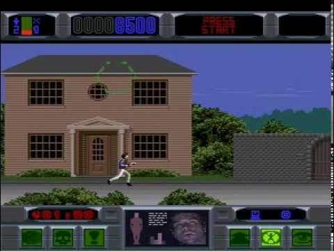 The Lawnmower Man Megadrive