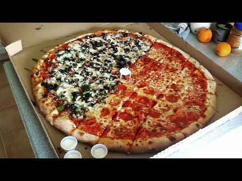 Watch Pro Eater Matt Stonie Devour A 26-Inch Pizza