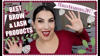EMILY AWARDS: Best Brow & Lash Products 2017 by Beauty Broadcast