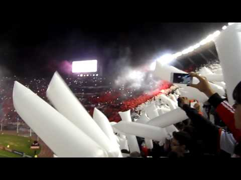 Video - LOS BORRACHOS DEL TABLON SUPERCLASICO DE LA LIBERTADORES 07-05-2015 - Los Borrachos del Tablón - River Plate - Argentina