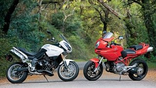 8. Ducati Multistrada 1100 vs. Triumph Tiger 1050 Universal Non-Japanese Motorcycles